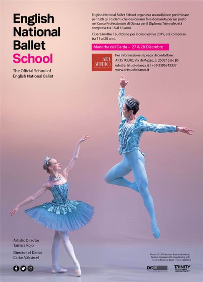 Audizioni English National Ballet School